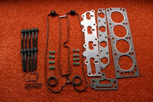 Zylinderkopfdichtung Satz Opel Astra f Vectra X18XE Schrauben Vollsatz Dichtung
