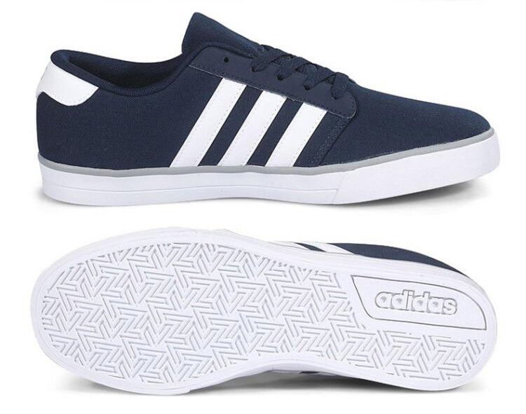 Adidas Neo VS Skate (AW4735) Athletic Sneakers Skateboard Shoes Navy