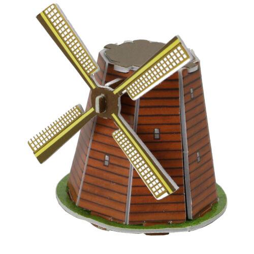 Mini Bausatz 3D Puzzle 4-7 Teile Miniatur Modelle zum stecken Puzzles & Geduldspiele