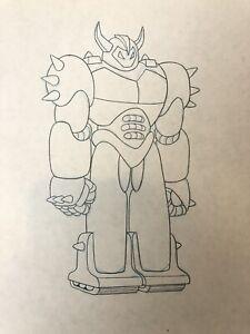 Bellatron Robot MOTU Animation Production Sketch Art He-Man Masters Universe