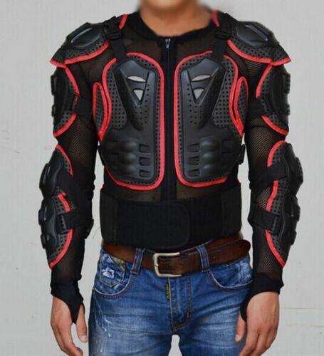 Men/'s Outdoor Motorcycle Cycling Racing Jacket Armor Motocross Protect Vest Gift