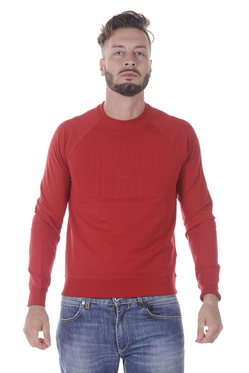 Armani Jeans AJ schweißhemd Hoodie Man rots 6Y6M086J0DZ 1456 Sz.S MAKE OFFER