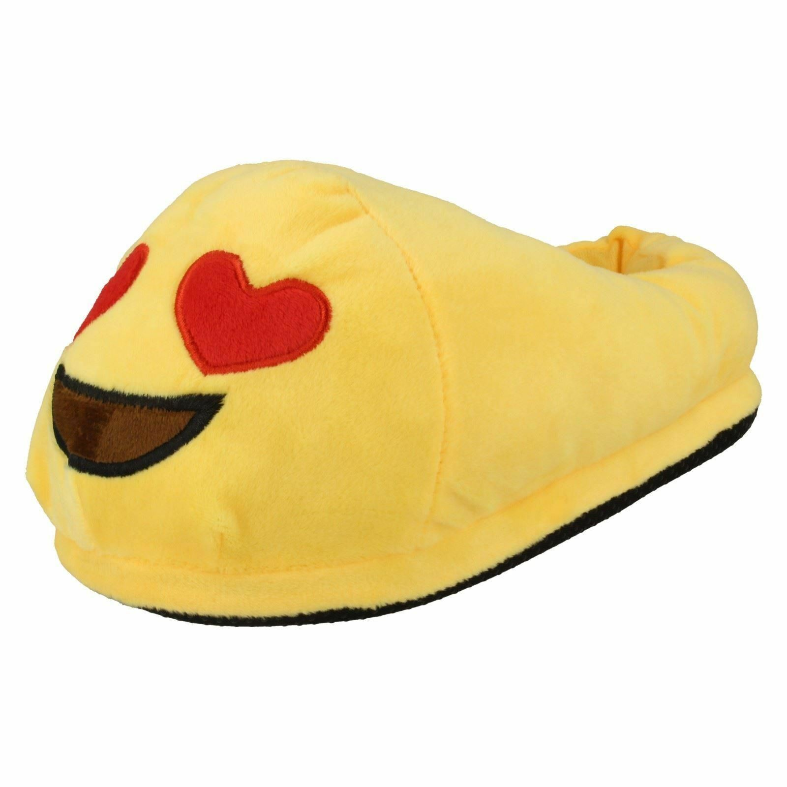 Man/Woman Spot On Easy Ladies Emoji Slippers. Hearts Easy On to use Fast delivery Various latest designs edf5bc