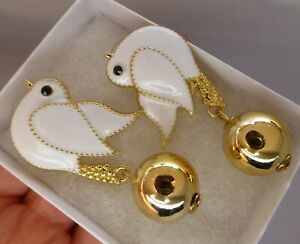 Dove-bird-brooch-earrings-white-enamel-crystal-rhinestone-vintage-style-gift-box