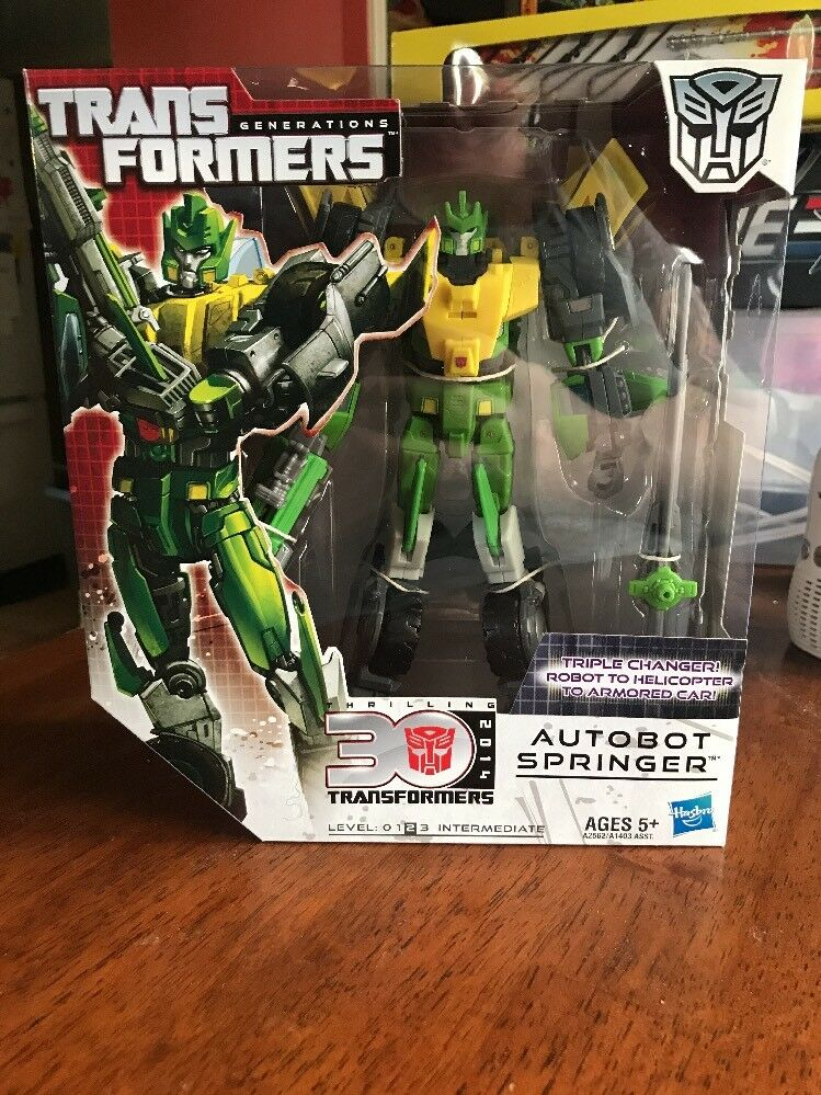 Transforners Generations 30th Anni Autobot Springer