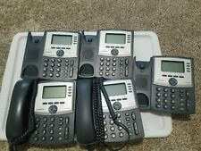 Cisco Linksys Spa942 4 Lines Voip Lot Of 5