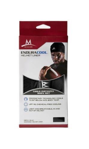 Mission Enduracool Cooling Helmet Liner Black