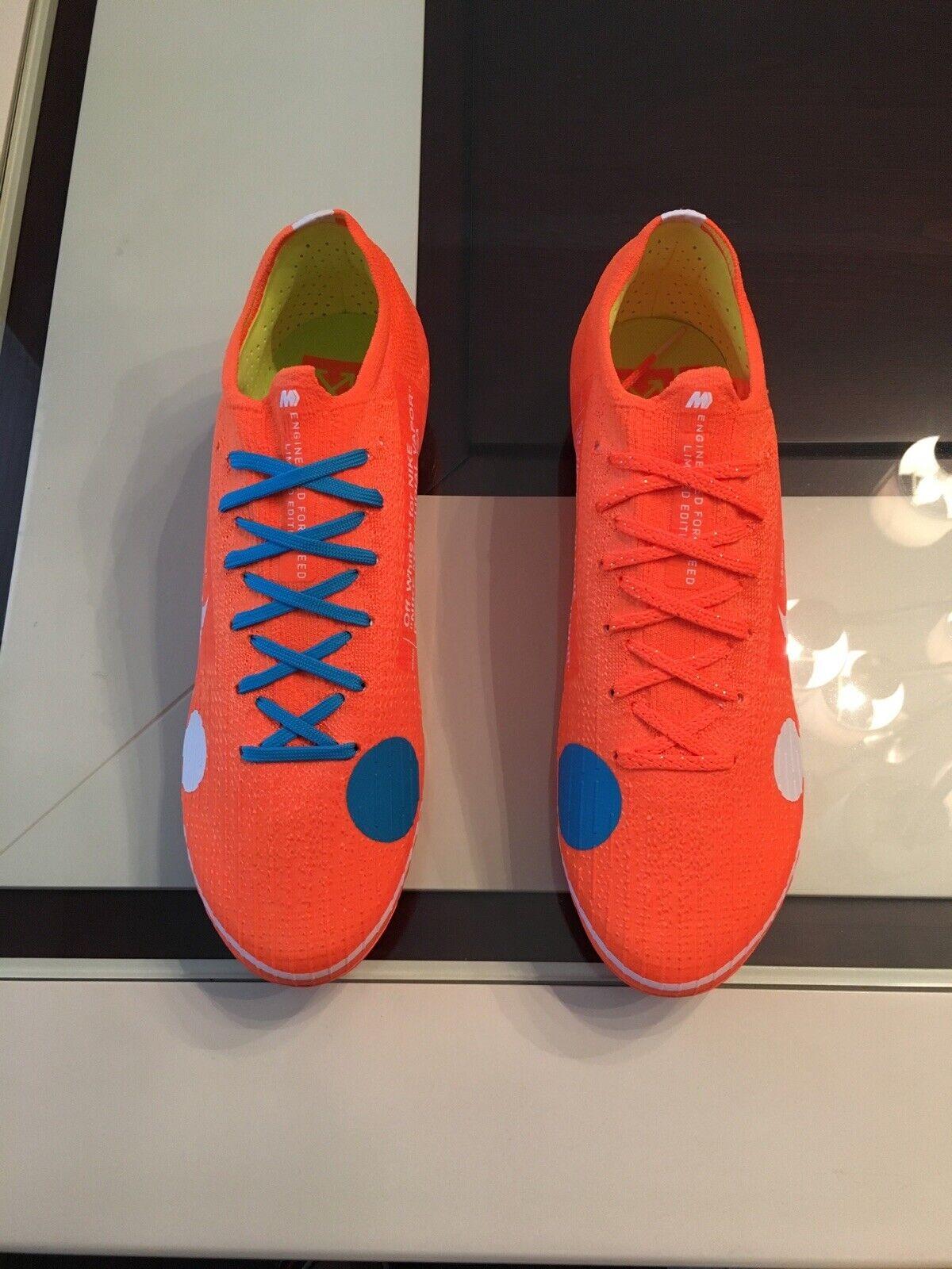 super popular 4905f 48f0a Nike off White Mercurial Vapor 360 Elite Cleats Size 9.5 Virgil Abloh Cr7