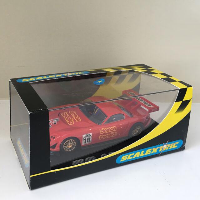 Scalextric 1:32 Car + Case - C2209 Red TVR Speed 12 Demon Tweeks #18