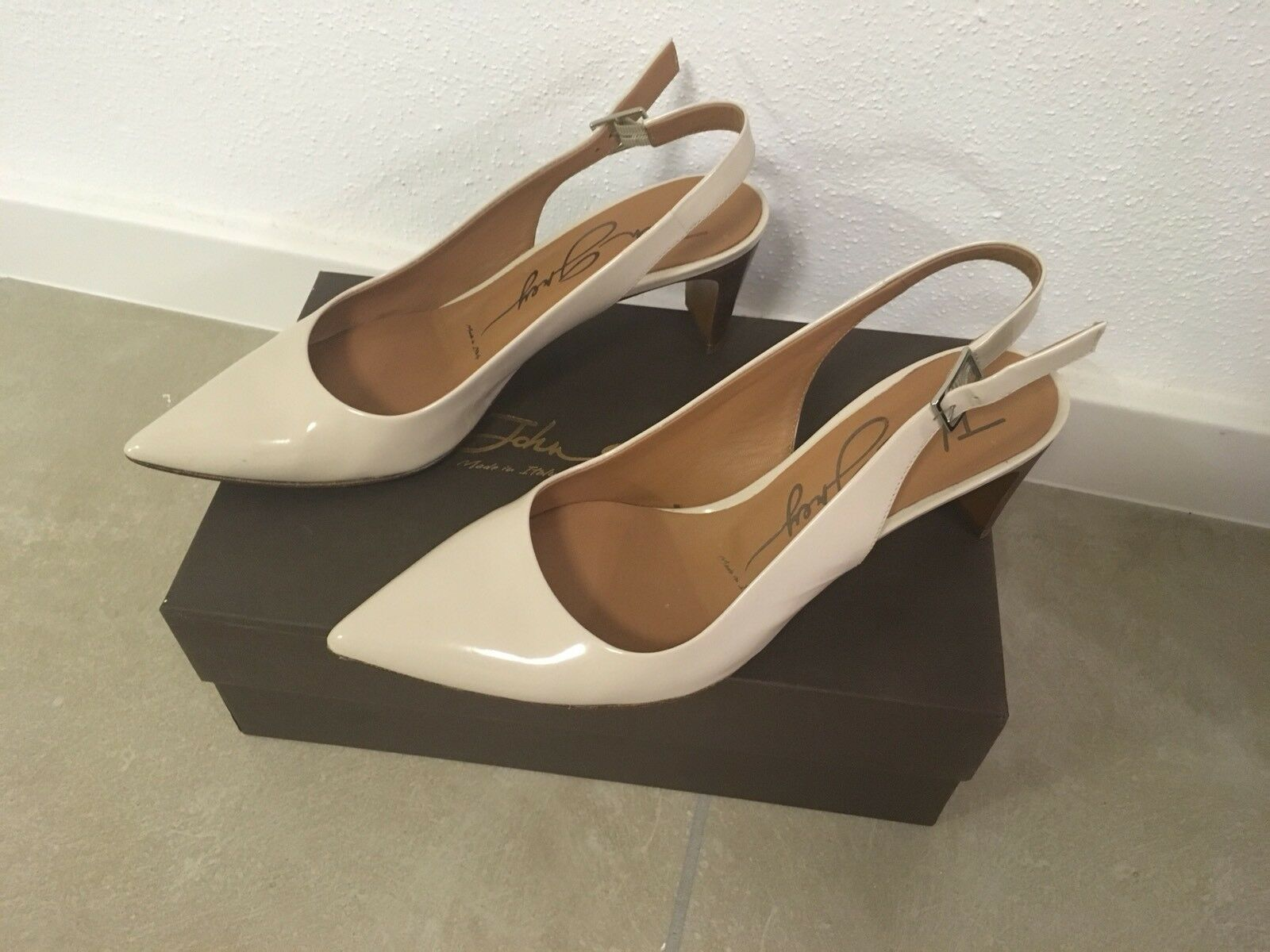 John Grau  Leder Schuhe Schuhe Schuhe Damen Nude Gr. 37,5 Flex Memory Carbon Soft f51e19