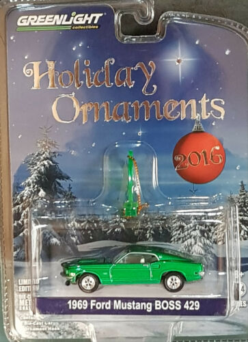 GreenLight Holiday lacónico serie 1 1969 Ford Mustang Boss 429