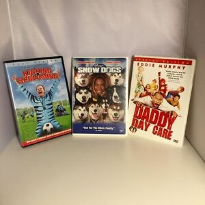 Details about Comedy DVD's Lot of 3 - Daddy Day Care - Snow Dogs - Kicking  & Screaming