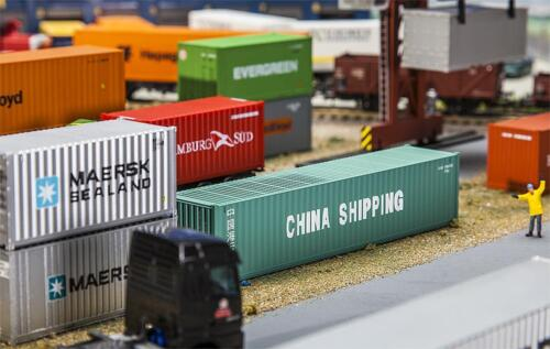 Faller 180844-1//87//h0 40/' container-Cina shipping-NUOVO