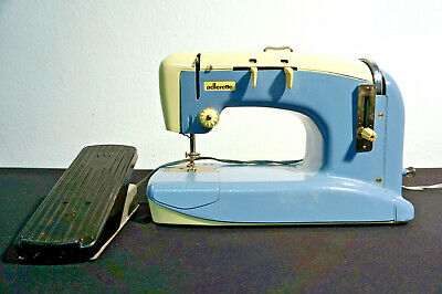 Adlerette Nähmaschine mit Fußpedal & Tragekoffer 34 cm
