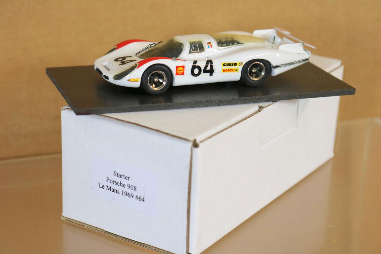 Starter modèles le mans 1968 porsche 908 voiture 64 hermann larrousse 2nd place ng
