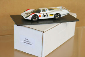Modèles de départ Le Mans 1968 Porsche 908 Car 64 Herrmann Larrousse 2e place Ng