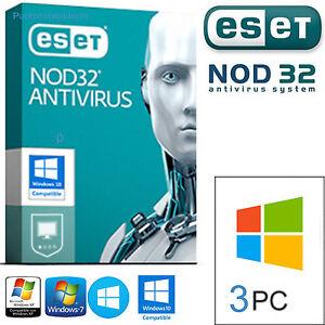 ESET-NOD32-Antivirus-3PC-2-Anni-Licenza-Originale-E-DURATA-VERA