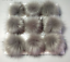 Women Faux Raccoon Fur Pom Pom Ball with Press Button for Knitting Hat DIY CA