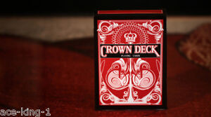 1-new-deck-RED-CROWN-1st-Edition-PLAYING-CARDS-by-bicycle-USPCC