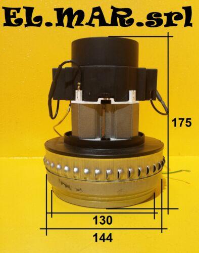 Motore elettrico BYPASS SMUSSATO bidone aspiratore aspirapolvere BISTADIO 1000 W