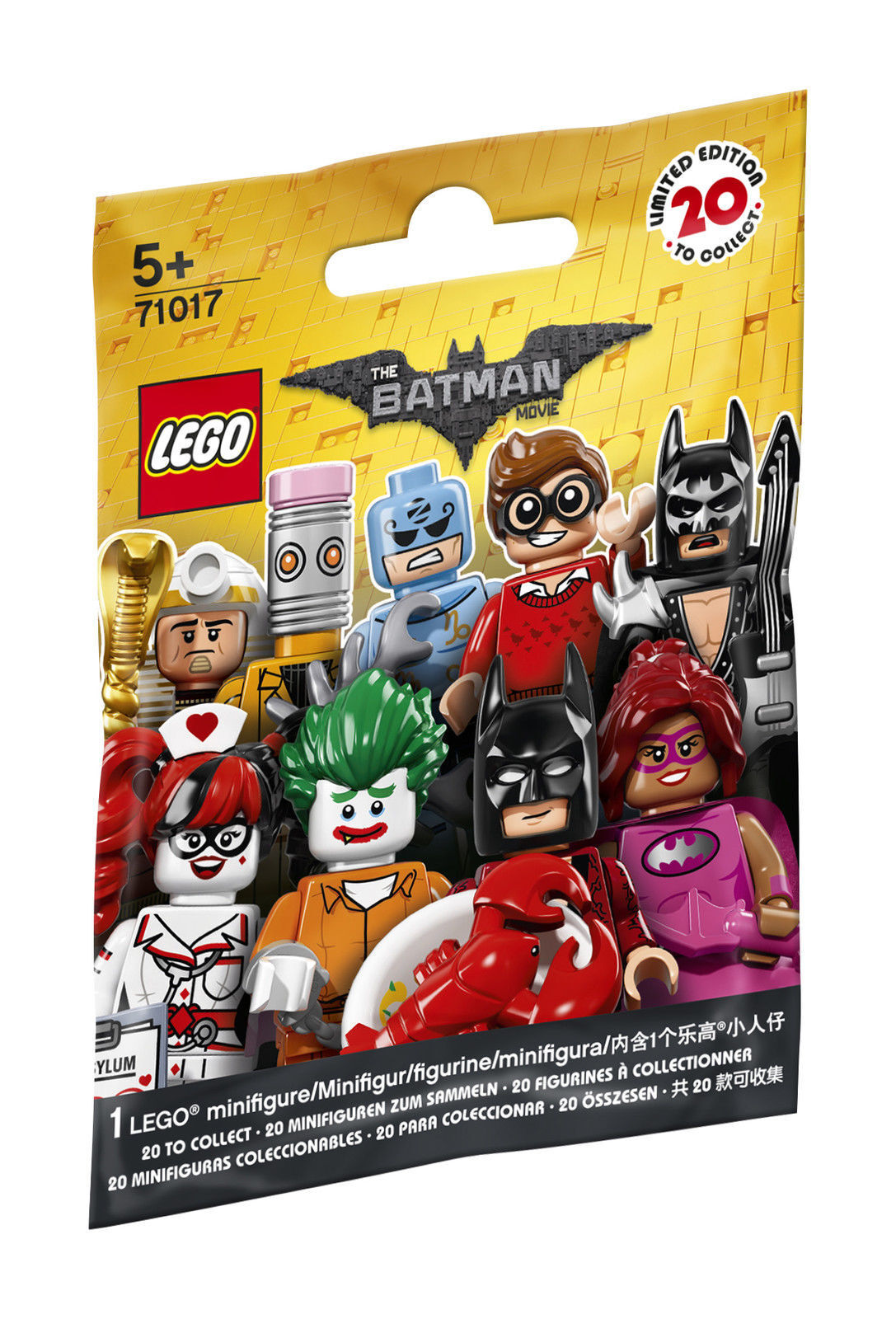 LEGO Minifigures The Batman movie 71017 NUOVO OVP 60 cartocci
