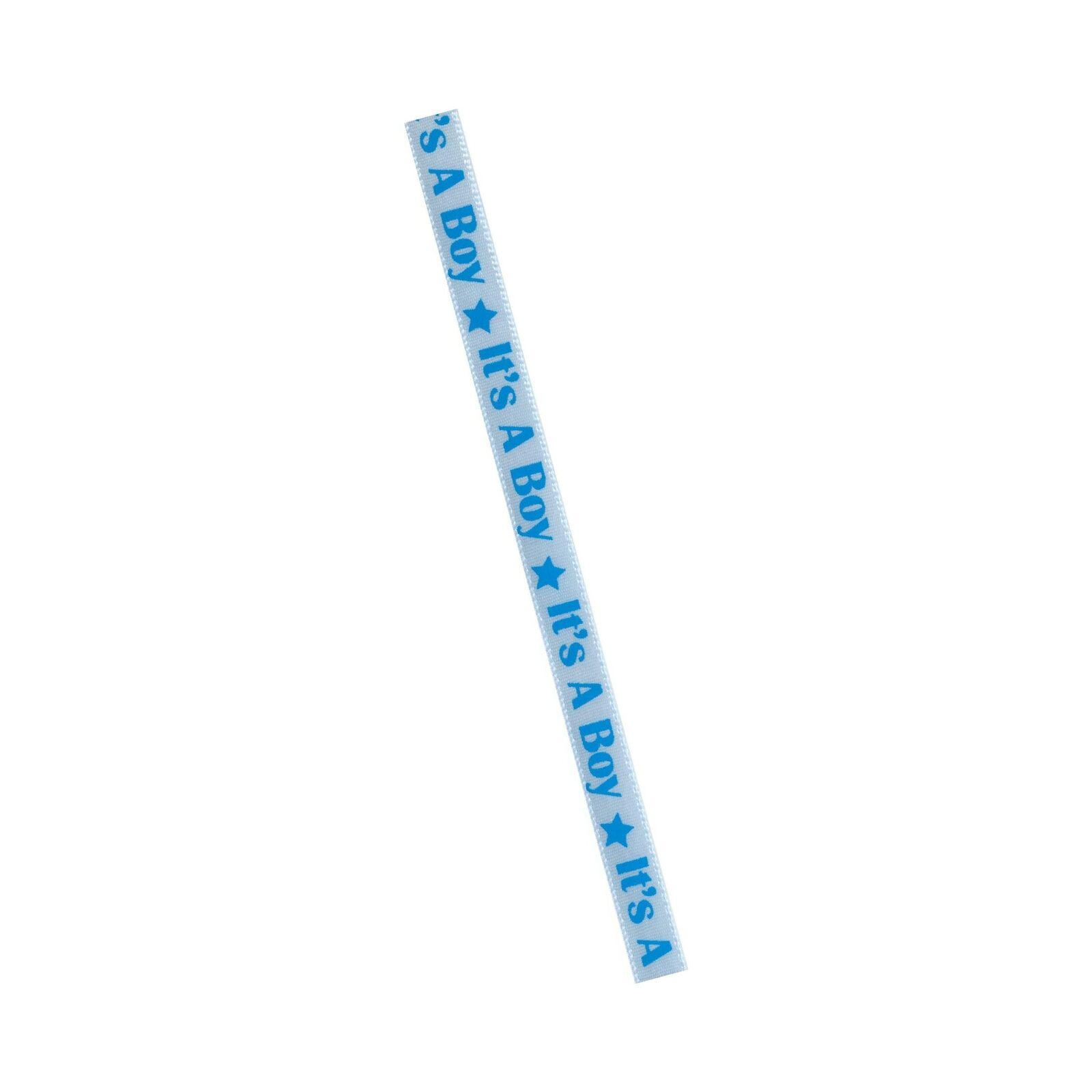 Offray Baby Celebration Craft Ribbon 3//8-Inch x 12-Feet Blue