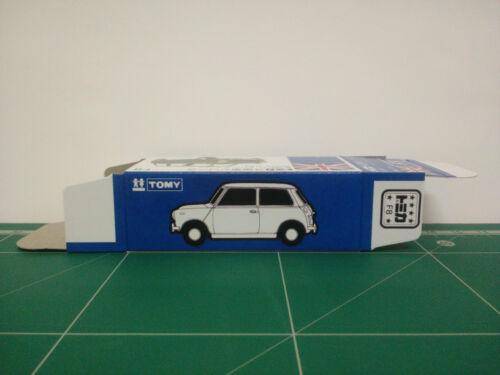 REPRODUCTION BOX for Tomica Blue Box No.F8 BLMC Mini Cooper S MK-III