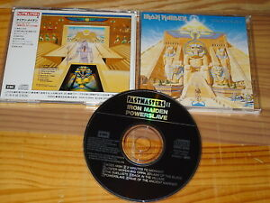 IRON-Maiden-Powerslave-TOCP-6341-JAPAN-CD-1991-MINT