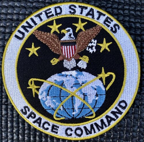 """NASA SPACE COMMAND PATCH AIR FORCE 3.5"""""""