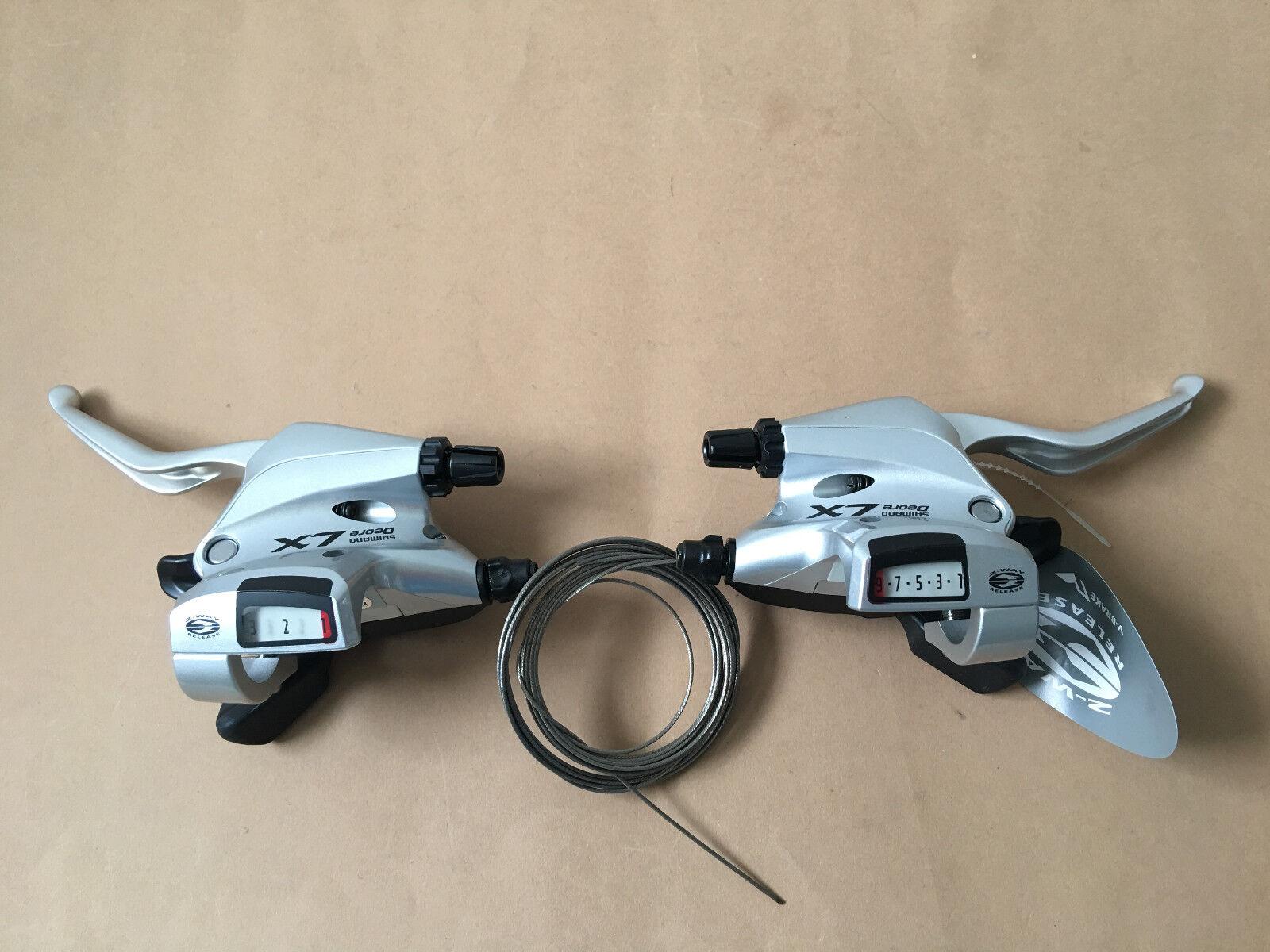 Shimano Deore LX st-t660 circuito palanca de freno 3x9-especializado de plata nuevo