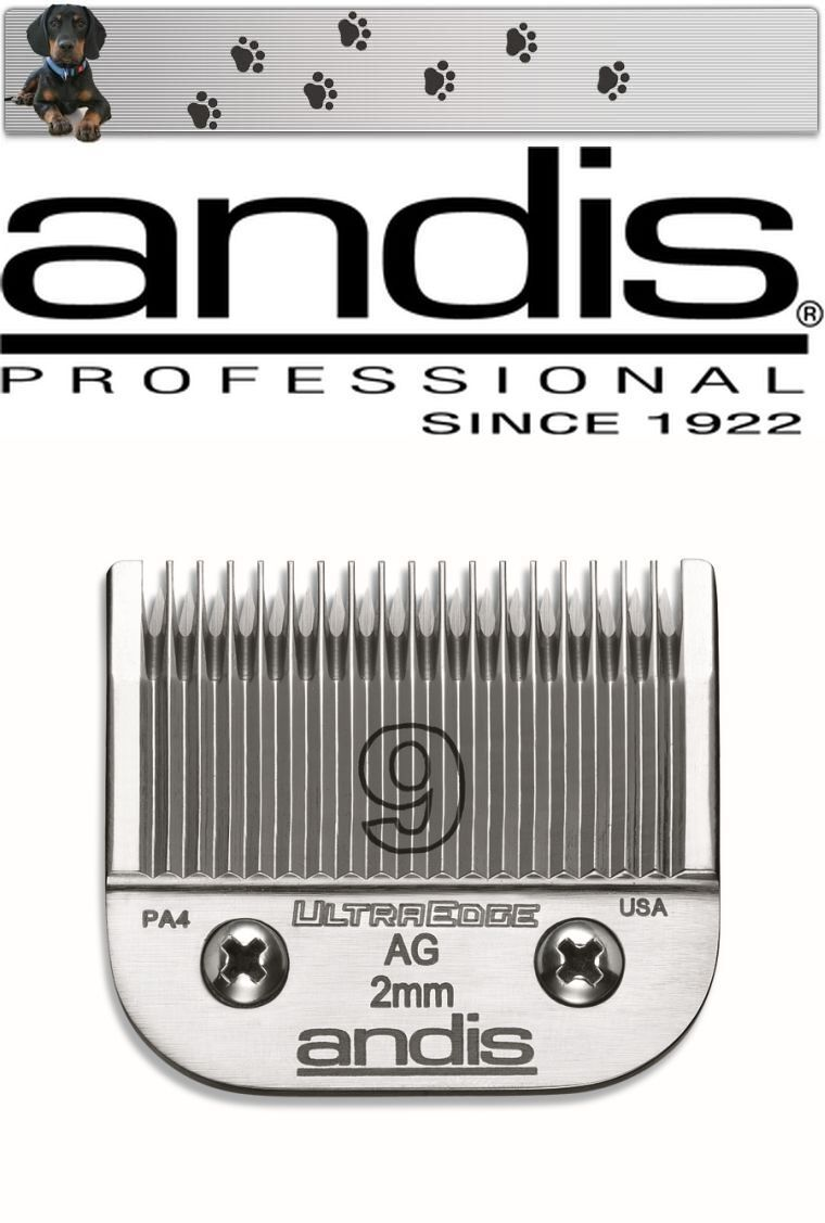 Andis Ultra Edge Shaving Head Size 9 2 mm Aesculap - Moser - Choice - Easter NEW
