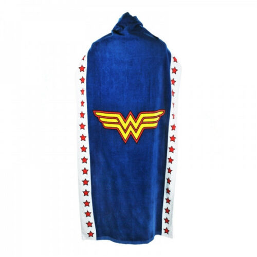 Official Wonder Woman Cape Towel New