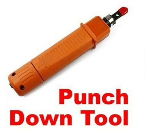 Network RJ45 RJ11 Cable Crimper Wire Cut Off Punch Down Cable ermination Tool