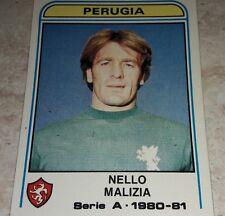 FIGURINA CALCIATORI PANINI 1980/81 PERUGIA MALIZIA N° 231 ALBUM 1981