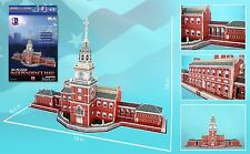 CF085H INDEPENDENCE HALL PHILADELPHIA 3D PUZZLE 43 PIECES