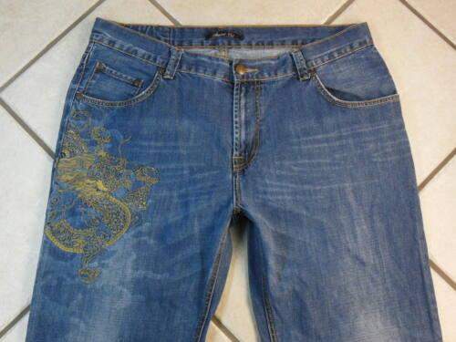 38 Taille 32 Homme Denim Entrejambe Pantalon standard Marc Cut Blue Ecko p6wn8qWB