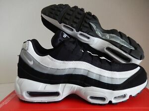 Nike Air Max 95 Essential Men's Running Shoes Black White 749766 038 Sizes 9 13