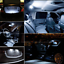 600LM 192 194 168 LED Interior Map Dome Door License Plate Light 6000K White 2X