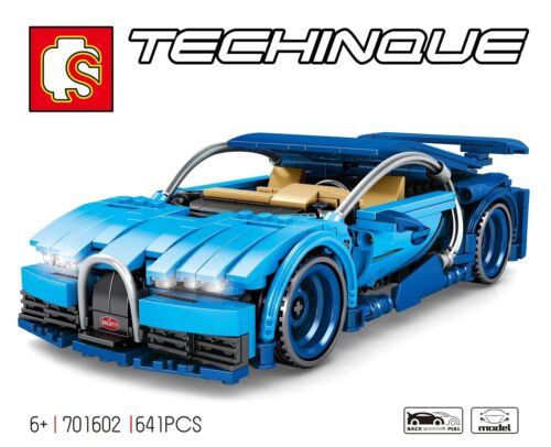 641Pcs Technic Sports Cars Toys Bricks Building Blocks Sets Children Diy Gift