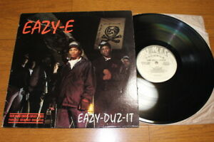 EAZY-E-EAZY-DUZ-IT-LP-US-ORIG-1988-PRIORITY-DR-DRE-ICE-CUBE-MC-REN