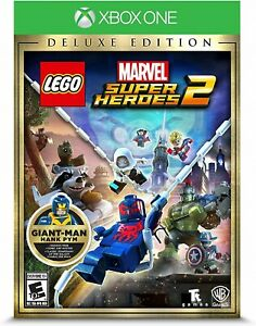 LEGO-MARVEL-SUPER-HEROES-2-DELUXE-EDITION-XBOX-ONE-BRAND-NEW-amp-SEALED