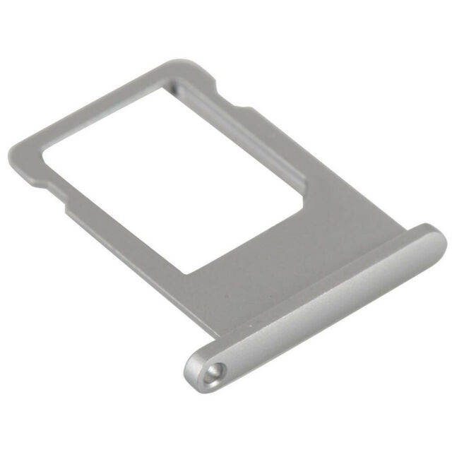 2 Pack - SIM Card Tray for Apple iPhone 6 - Silver