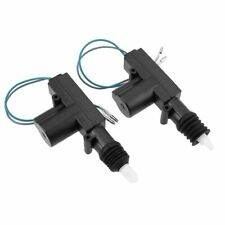 2pcs 12v Door Power Central Lock Kit With 2 Wire Actuator For Auto Vehicle Entry