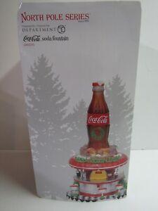 Dept-56-North-Pole-Coca-Cola-Soda-Fountain-6002293-New-MIP