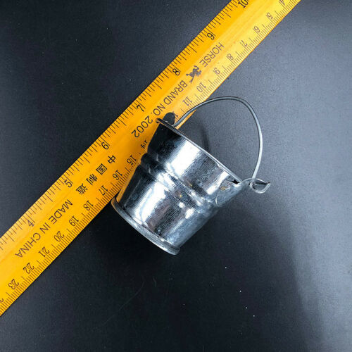 """1:6th Scale Metal Bucket Model Toy For 12/"""" Action Figures Doll"""