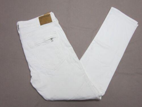 Religion Geno Détendu Blanc Neuf Moto Slim Taille Mens 31 Rare Biker True Jeans BdHFwqUB