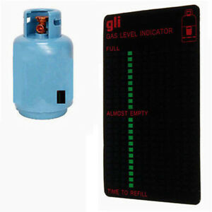 Gas-Thermometer Propan Butan LPG Benzintank Level Indicator Magnetic Gauge YG