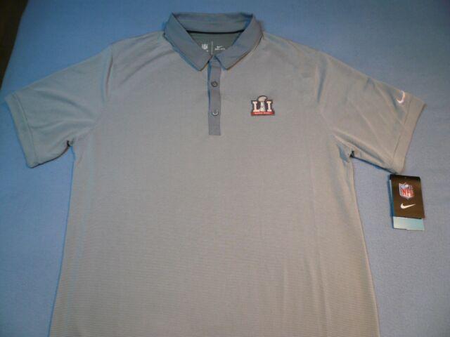 691763d821a Nike Super Bowl LI 51 MEDIUM BRAND NEW Collared shirt NFL Polo Patriots NWT