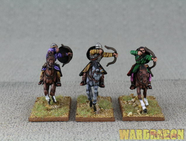 WDS painted Crusades Crusaders CU11 Turcopoles with bows,shooting e10