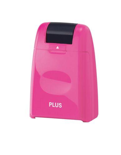 pink PLUS JAPAN Datenschutz-Rollstempel Standard
